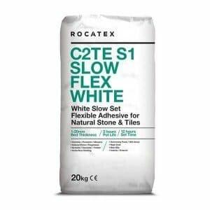 White Slow Flex Adhesive